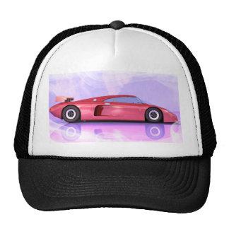 Fast car mesh hat