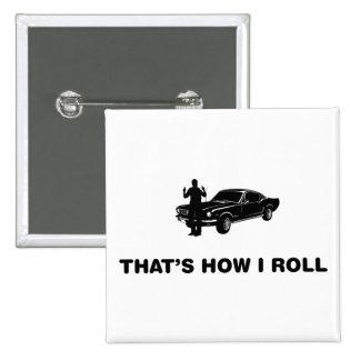 Fast Car Lover Pins