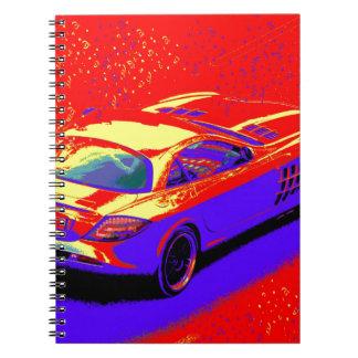 fast car notebooks
