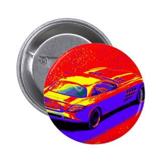 fast car pinback button