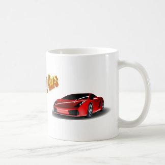Fast Cars Basic White Mug