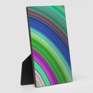 Fast colors display plaques