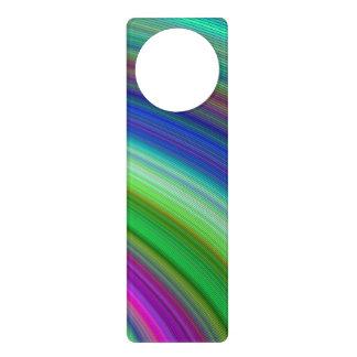 Fast colors door knob hangers