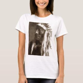 Fast Elk Hexaka Luzahan Native American Indian T-Shirt