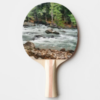 Fast flowing Lidder Ping Pong Paddle