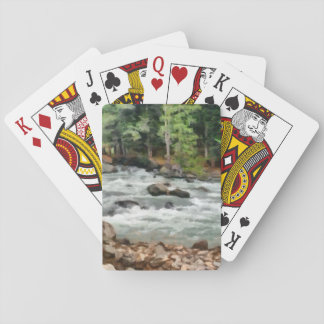 Fast flowing Lidder Playing Cards
