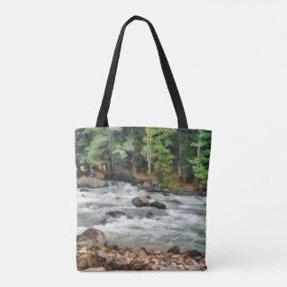 Fast flowing Lidder Tote Bag