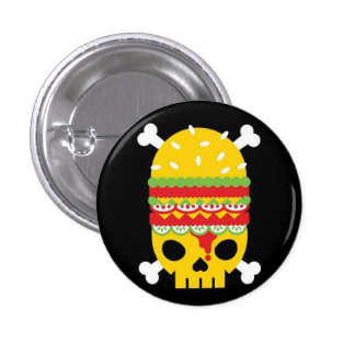 Fast Food 3 Cm Round Badge