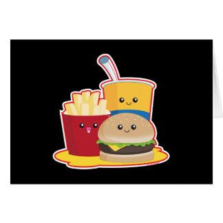 Fast Food Card
