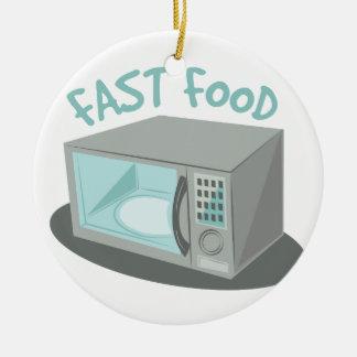 Fast Food Ceramic Ornament