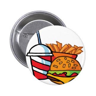 Fast Food Cheeseburger Pin
