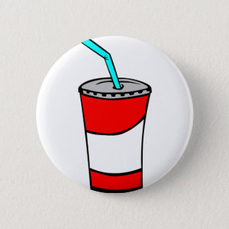 Fast Food Drink 6 Cm Round Badge