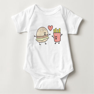 Fast Food Friends Baby Bodysuit