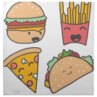 fast food friends napkin