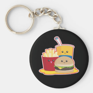 Fast Food Key Ring