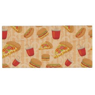 Fast Food Wood USB 2.0 Flash Drive