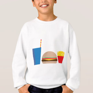 fast food meal sweatshirt