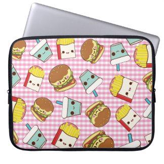 Fast Food Minis Laptop Sleeve