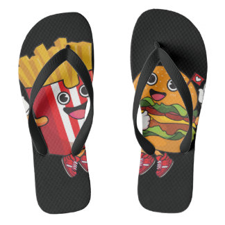 Fast food party thongs