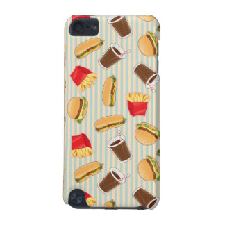 Fast Food Pattern 2 iPod Touch (5th Generation) Cover