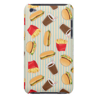 Fast Food Pattern 2 iPod Touch Covers