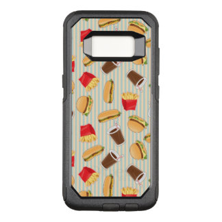 Fast Food Pattern 2 OtterBox Commuter Samsung Galaxy S8 Case