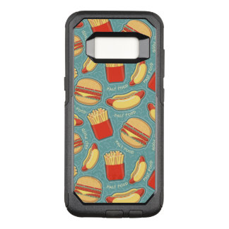 Fast Food Pattern 3 OtterBox Commuter Samsung Galaxy S8 Case