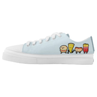 Fast Food Printed Shoes