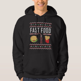 Fast Food Ugly Christmas Sweater