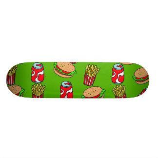 Fast Food Wallpaper 21.3 Cm Mini Skateboard Deck