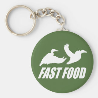 Fast food water fowl w key ring