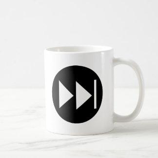 Fast Forward Button Symbol Coffee Mug