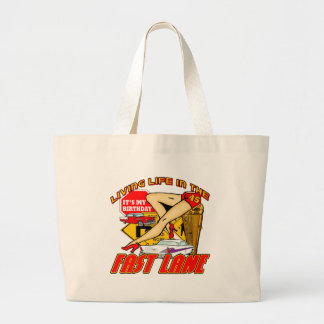 Fast Lane 45th Birthday Gifts Bag