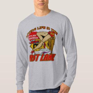 Fast Lane 80th Birthday Gifts T-Shirt