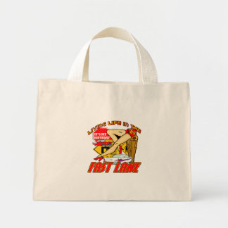 Fast Lane 85th Birthday Gifts Mini Tote Bag