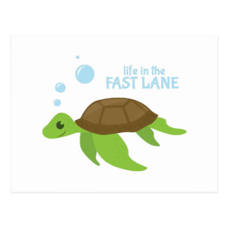 Fast Lane Postcard