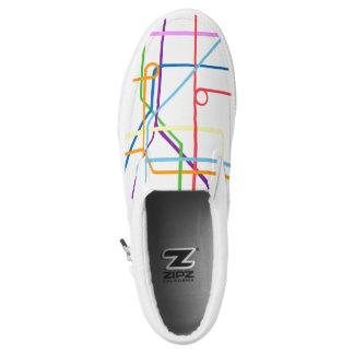 Fast Lane Printed Shoes