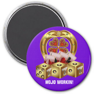 Fast Luck Fridge Magnets