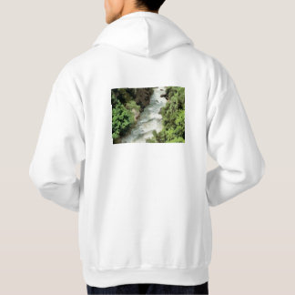 Fast moving river hoodie