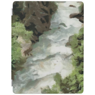 Fast moving river iPad cover