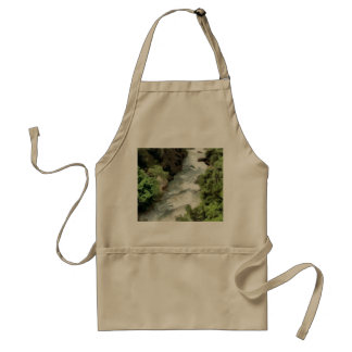 Fast moving river standard apron