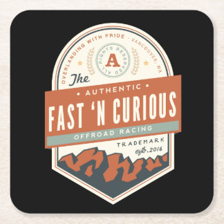 Fast n' Curious Coaster - Drink in Style