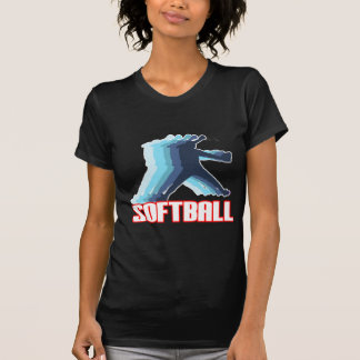 Fast Pitch Softball Silhouette T-Shirt