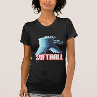 Fast Pitch Softball Silhouette T-shirts