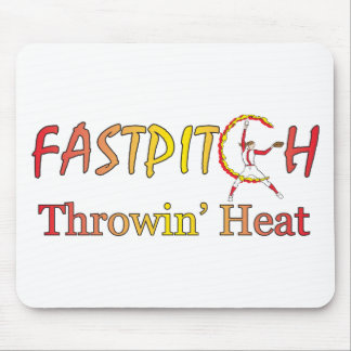 Fast Pitch Softball Version 1 Mouse Pad