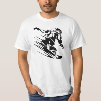 Fast Snowboarder T-Shirt