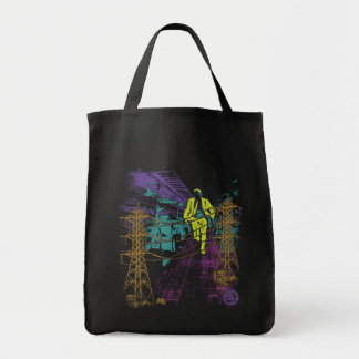 Fast Track Grocery Tote Bag