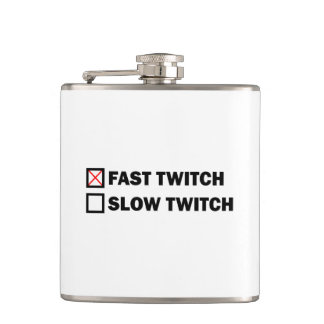 Fast Twitch Hip Flask