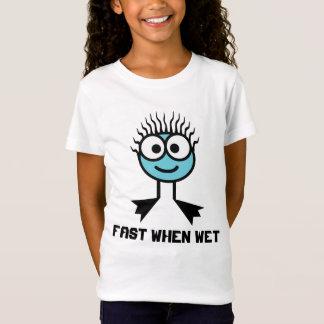Fast When Wet - Blue Swim Character T-Shirt