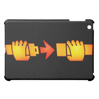 Fasten Seat Belt Sign iPad Case